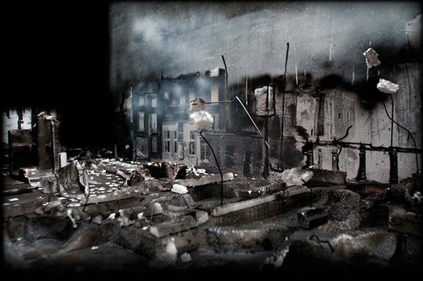 The Bombed House by Eveline Visser
